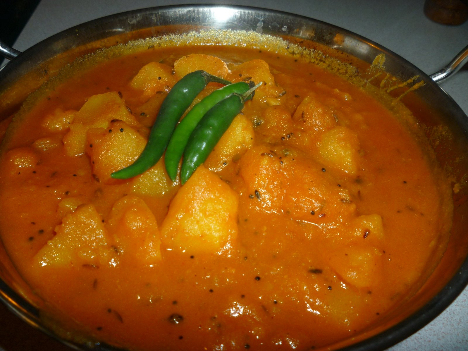 ... you my easy peasy potato curry i tend to make this curry when i come