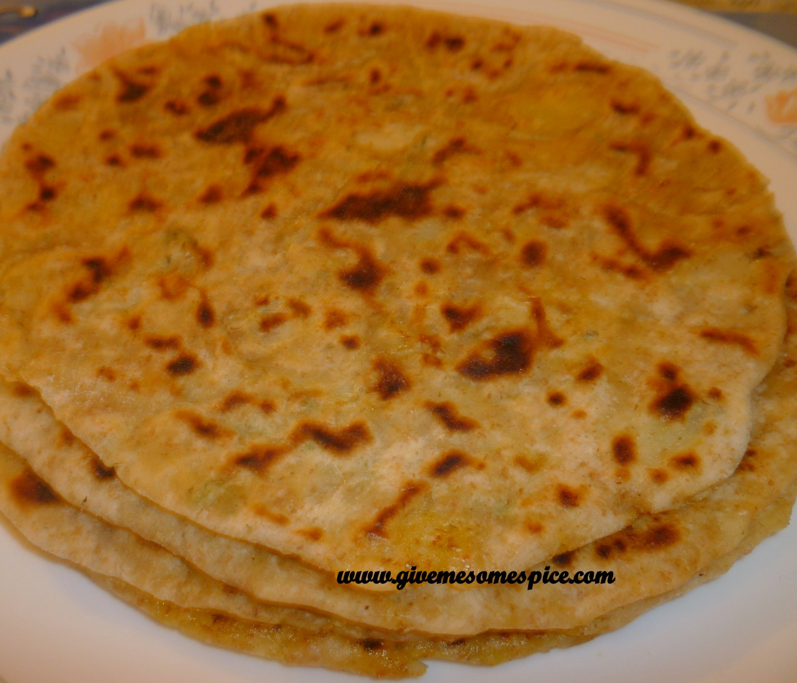 Food Hopi Indians Ate http://www.givemesomespice.com/2010/01/stuffed-parotha-or-alu-paratha.html