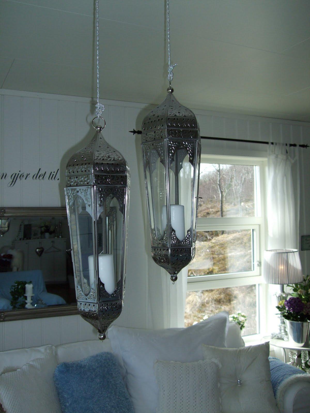 Nina Irens sitt hjem: Lamper