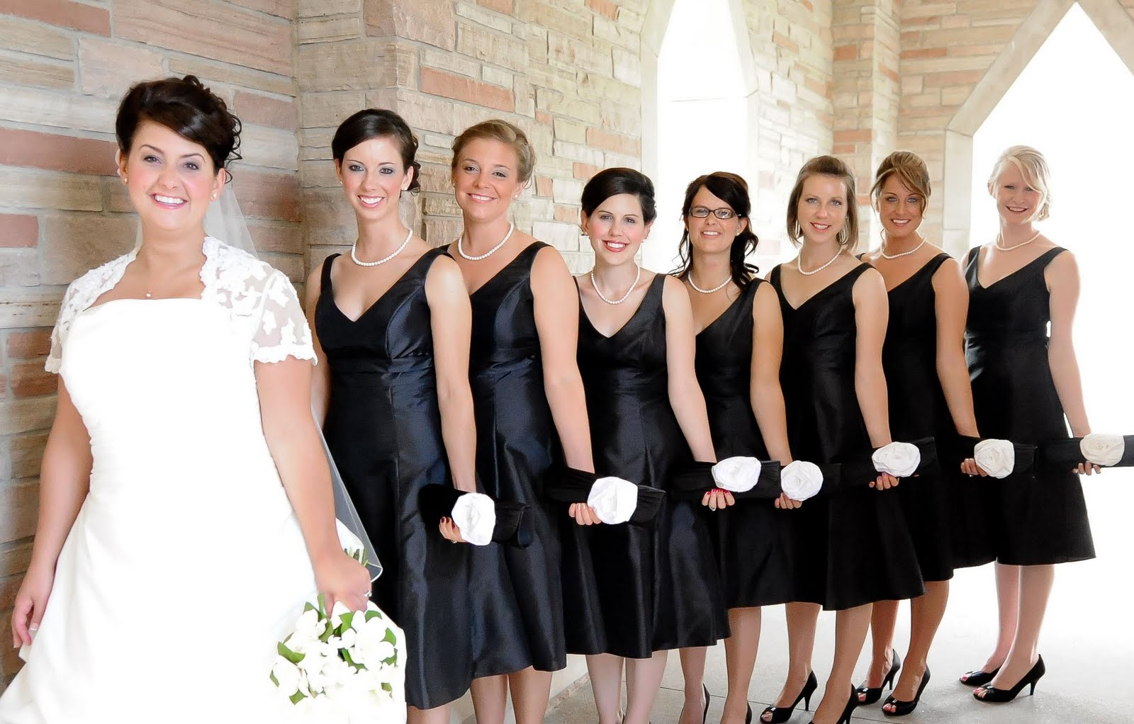 Single Flowers For Bridesmaids | Wedding Gallery