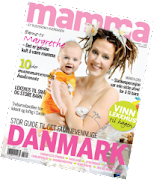 "Vimplene mine er med i juninummeret av ""Mamma""."