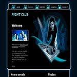Night Club CSS Templatee