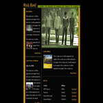 Rock Band CSS Templates