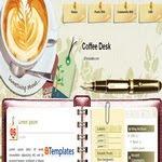 Coffe Desk Blogspot Template