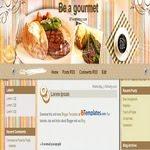 Gourmet Blogspot Template