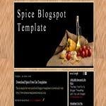 Spice Blogspot Template