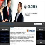 Blogspot Business Globex Template