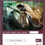Automobile Blogger Template