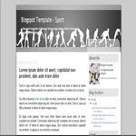 Sport Blogspot blogspot Template