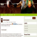 NBA Blogspot blogspot Template