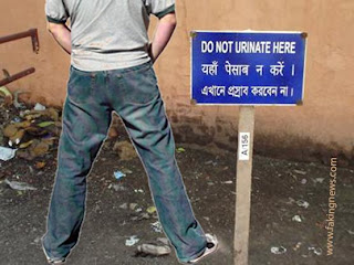 Right to urinate
