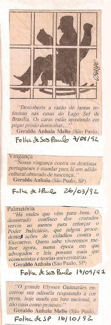 Matérias folha de São Paulo.