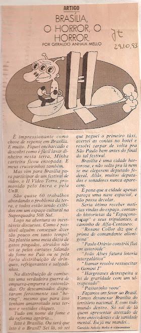 Brasília,o horror,o horror!!!