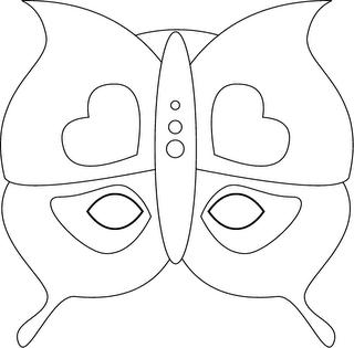 Algum Desenhos De Mascaras De Carnaval Para Fazer Em Cartolina  Papel