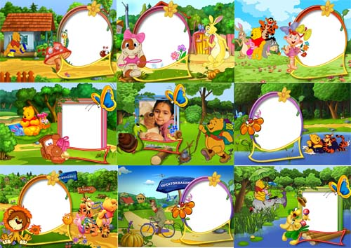 Beautiful Frames Winnie the Pooh