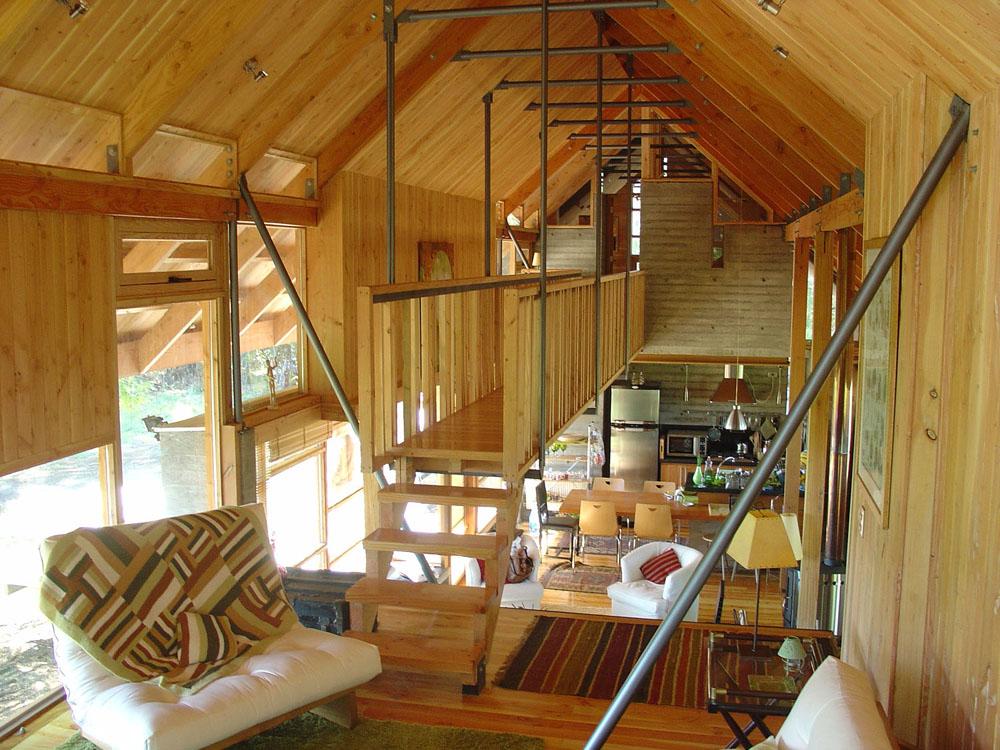 La madera en la arquitectura casas en madera - Casas de madera de pino ...