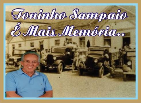 Toninho Sampaio é mais Memória