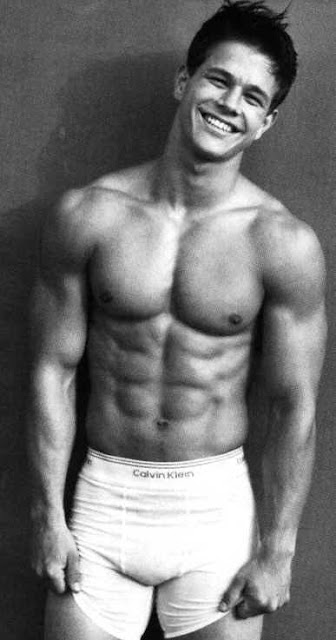 I fell in love with Mark Wahlberg when he was the poster boy for Calvin