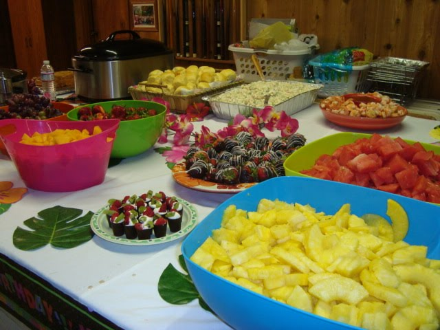 Hawaiian Theme Party Food