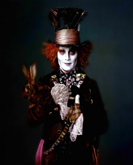 johnny depp as mad hatter. johnny