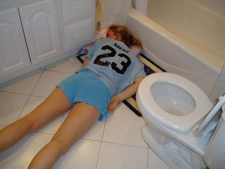 girl abused pee