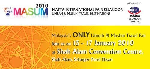 MASUM (MATTA International Fair Selangor Umrah & Muslim Travel)