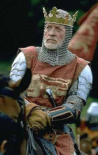 Patrick McGoohan as Kin Edward Longshanks in Braveheart