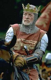 Patrick McGoohan as Kin Edward Longshanks in Braveheart