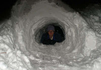 snow tunnel cave