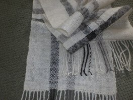 Leicester Longwool / Mohair Scarf