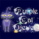 Purple Cat Jewels on Etsy