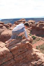future rock climber!