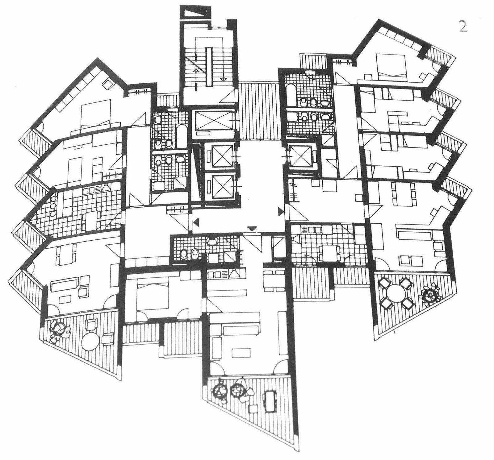 Bologna i 2 grattacieli residenziali di via stalingrado for Architetti famosi moderni