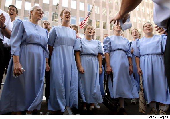 Amish Women Pics