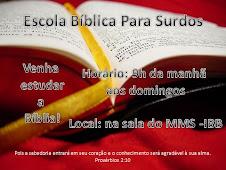 EBS - Escola Bíblica Para Surdos