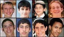 The 8 boys from Mercaz HaRav