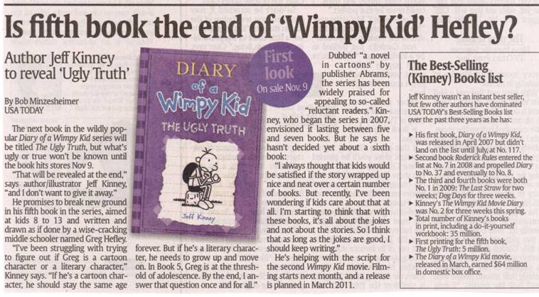 Mishaps and adventures diary of a wimpy kid the ugly truth 5 diary of a wimpy kid the ugly truth 5 press release solutioingenieria Choice Image