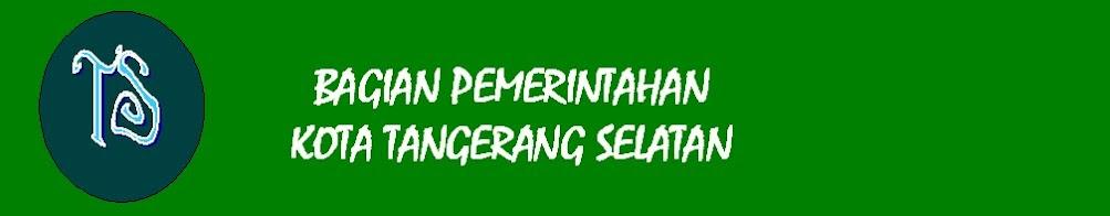 Bagian Pemerintahan Kota Tangerang Selatan