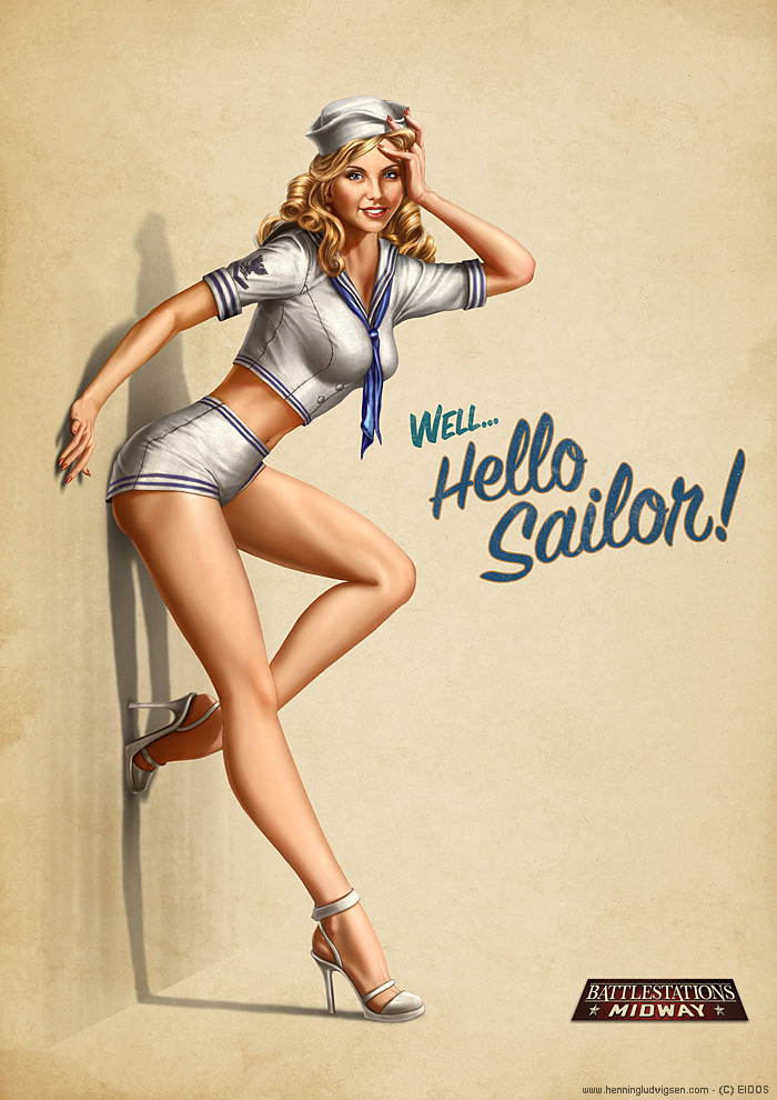 Battlestation_Midway_pin_up_2_by_henning
