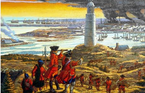 Capture Of Louisbourg 1758
