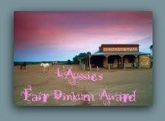 L'AUSSIE'S FAIR DINKUM AWARD