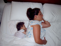 Ava and Mommy sleeping