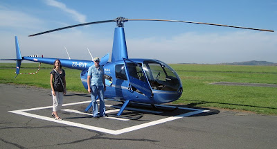 Jonathan  Megan Sabo  Missionary Work In Africa Helicopter Flight From Joh