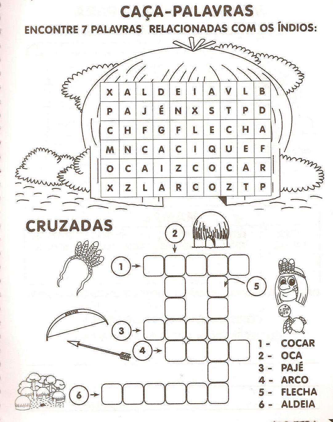 Super TODOS PELA EDUCAÇÃO: PROJETO DO DIA DO ÍNDIO JB64