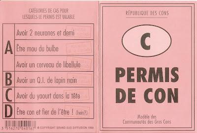 PERMIS+CON