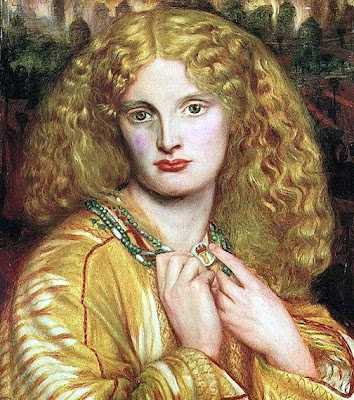 Helen of Troy 1863 Painting by Dante Gabriel Rossetti | Oil Painting