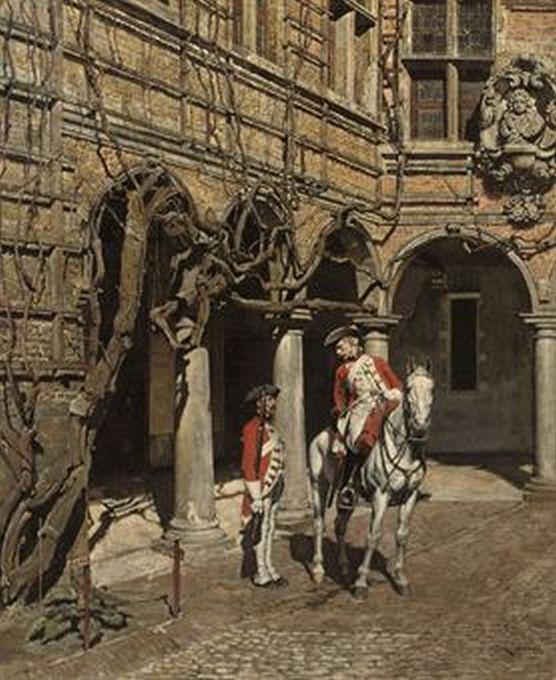 five views of Antwerp to