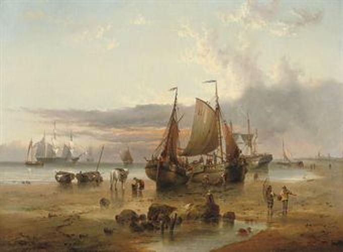 Lower Boddington United Kingdom  city images : British Paintings: Henry Redmore On the Dutch coast off Texel Island