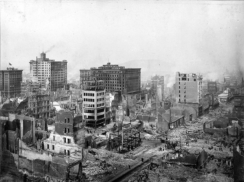 san francisco earthquake of 1906. 1906 San Francisco earthquake