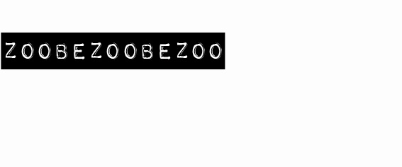 ZOOBEZOOBEZOO